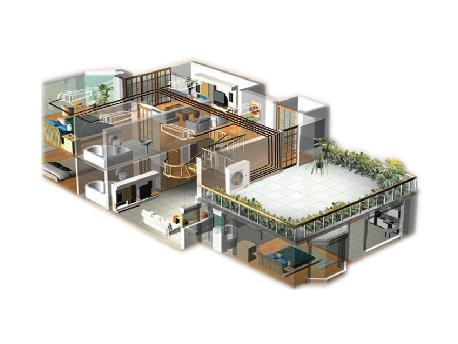 家用中央空调解决方案GMV Star系列