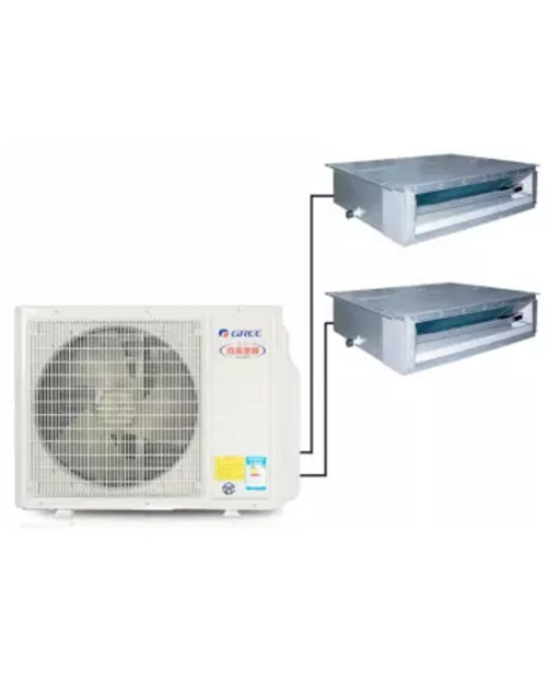 格力FREE 家用中央空调GMV-Pd80W/ NaFB-N1一拖二套餐