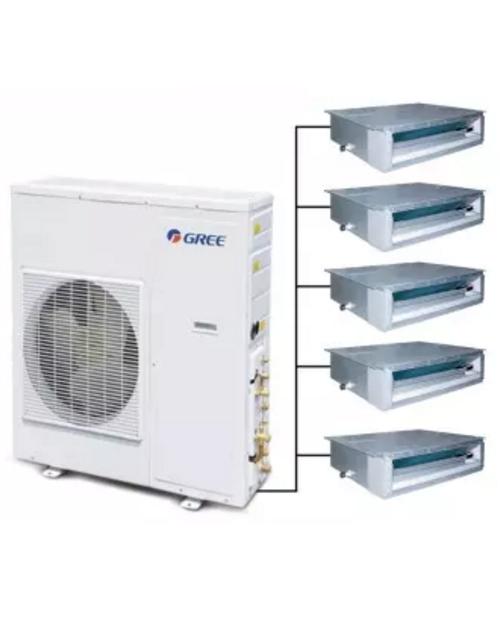格力FREE 家用中央空调GMV-Pd120W/ NaFB-N1一拖五套餐