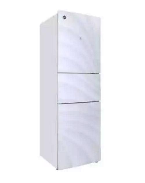晶弘 BCD-286ETG 286升L红 电脑控温三循环智能三门冰箱