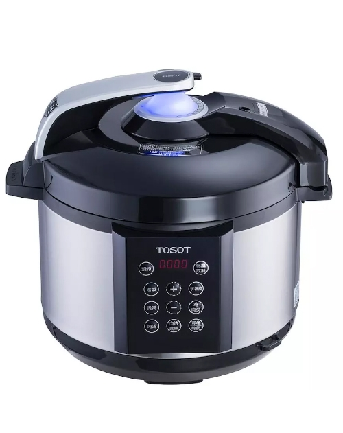 TOSOT/大松 智能电压力锅24小时精准预约 双胆黑色