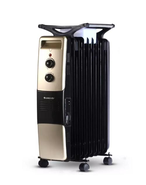 格力电暖器电油汀家用取暖器儿童防烫电暖气省电NDY07-18暖风机