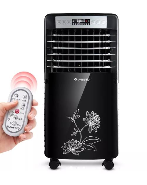 格力 空调扇 智能遥控 移动单冷制冷风机 家用遥控环保冷气机特价