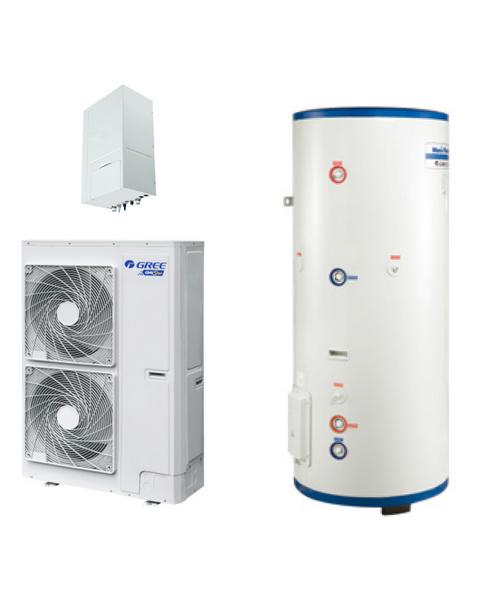 格力中央空调 GMV Unic 多能一体机 中央空调、热水、地暖3合1